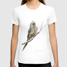 Speckled Mousebird by Teresa Thompson T-shirt