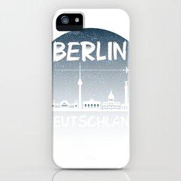 Graffiti Berlin Deutschland Hauptstadt Berlin Love iPhone Case