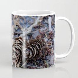 Pines and Leaves Coffee Mug