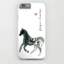 Horse (Leopard) iPhone Case