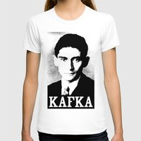 kafka T-shirts featuring KAFKA by Lestaret
