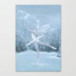 Snow Dancer Canvas Print