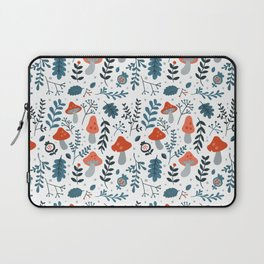 Winter mushrooms Laptop Sleeve