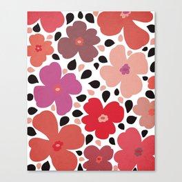 FLoral vibes Canvas Print