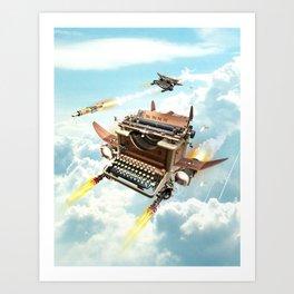 Word War II Art Print