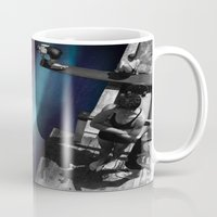 vertigo Mugs featuring Vertigo by icontrive