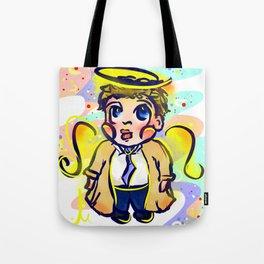 Chibi Castiel, cute assbutt Tote Bag