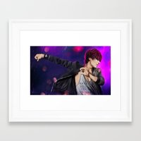 shinee Framed Art Prints featuring SHINee - Taemin by Nikittysan