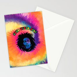 Good Vibes only, Marley vibes. Stationery Cards