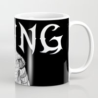 nordic Mugs featuring Nordic Viking by Luke Kegley