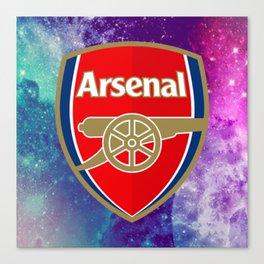 Arsenal Galaxy Design Canvas Print