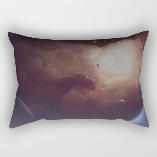 Star formation Rectangular Pillow