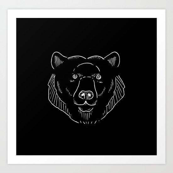 Big Bear Art Print