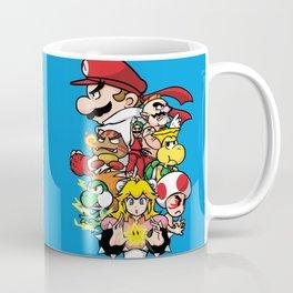 Mushroom Kingdom Fighters Coffee Mug