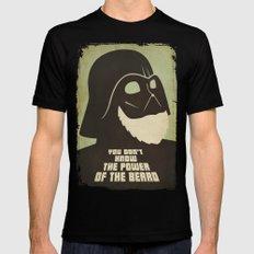 Beard Vader Mens Fitted Tee Black LARGE