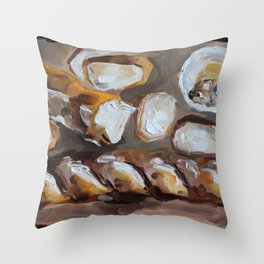 Baguette, french bread, du pain, food Throw Pillow