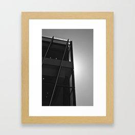 Glow (South Wharf, 2011) Framed Art Print