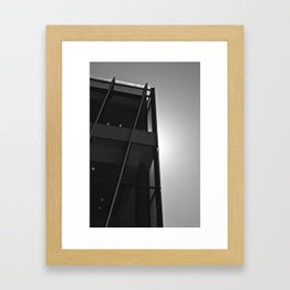 Glow (South Wharf, 2011) Framed Art Print