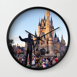 Walt's View Wall Clock