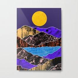 Textured lands Metal Print