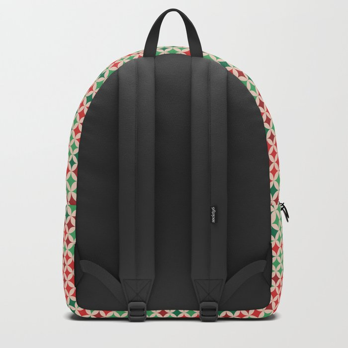 Multicolored Stars Pattern Backpack