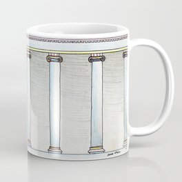 Colonnaded Cup Coffee Mug
