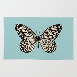 Paper Kite Moth (Idea Leuconoe) Rug