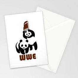 Panda Wwe Stationery Cards