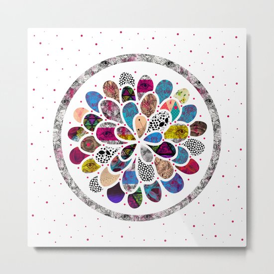Mystic Flower Metal Print