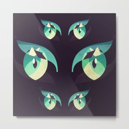 Demons's eyes Metal Print