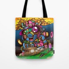 mad house Tote Bag