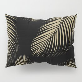 Palm Leaves - Gold Cali Vibes #4 #tropical #decor #art #society6 Pillow Sham