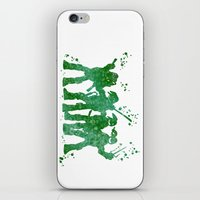 teenage mutant ninja turtles iPhone & iPod Skins featuring Teenage Mutant Ninja Turtles by Carma Zoe
