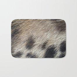 Pig Skin Hair Bath Mat