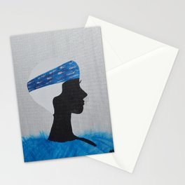 Blue Nell Stationery Cards