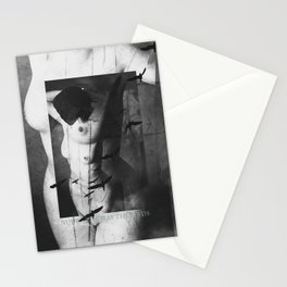 Nude - The way the birds Stationery Cards