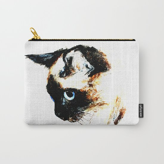 Siamese Cat 2015 edit Carry-All Pouch