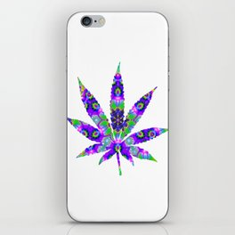 Cannabis Rainbow Design (15) iPhone Skin