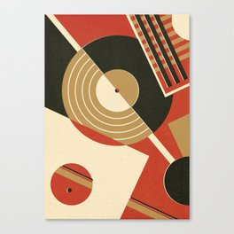 Bauhausmusic - Part II Canvas Print