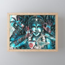 Goddess Kali Framed Mini Art Print