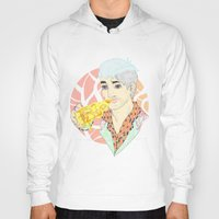 fitness Hoodies featuring His Fitness Regime by percieandbert