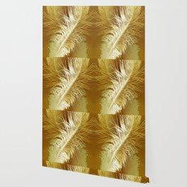 Golden Ostrich Wallpaper