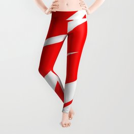 Stylized Heart Leggings