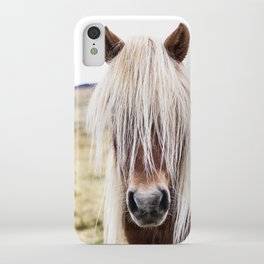 Icelandic Horse on a Farm iPhone Case