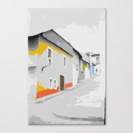 Town Street Canvas Print