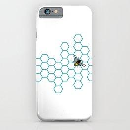 Honeycomb Bee iPhone Case