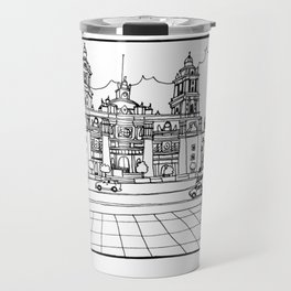Mexico City´s cathedral Travel Mug
