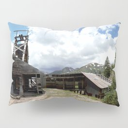 Exploring the Longfellow Mine of the Gold Rush - A Series, No. 1of 9 Pillow Sham
