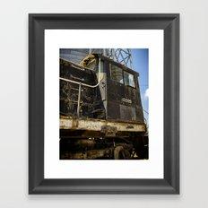 Aged workhorse Framed Art Print