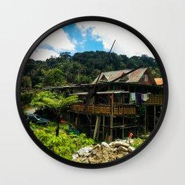 Cameron Highlands House Wall Clock